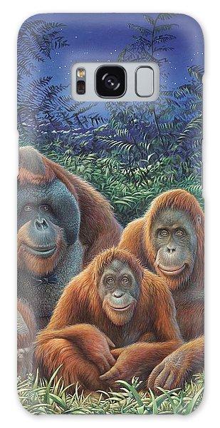 Sumatra Orangutans Galaxy Case