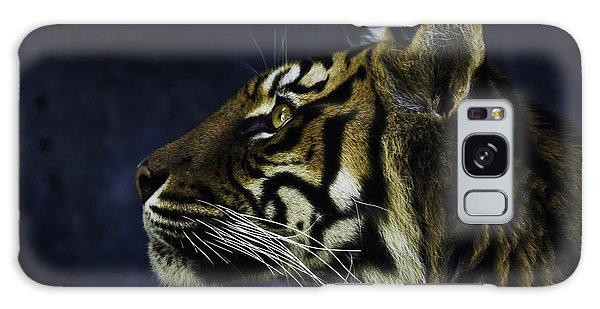 Sumatran Tiger Profile Galaxy Case
