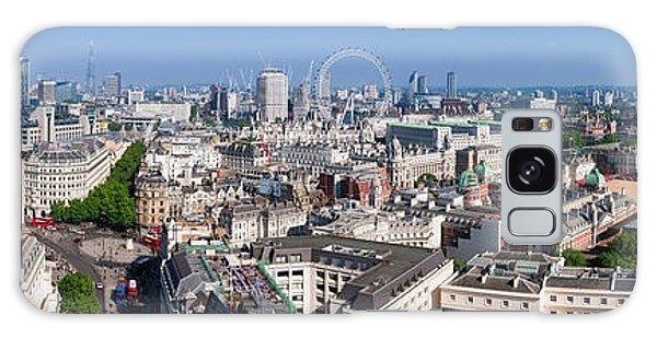 Sumer Panorama Of London Galaxy Case