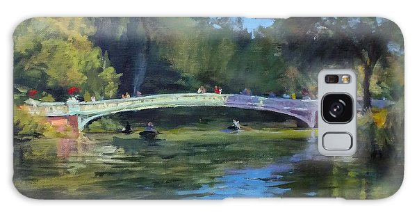 Summer Afternoon On The Lake, Central Park Galaxy Case