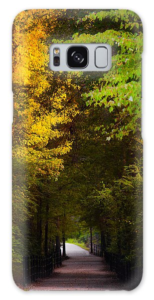 Summer And Fall Collide Galaxy Case by Parker Cunningham