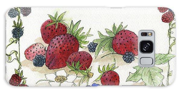 Summer Berries Galaxy Case