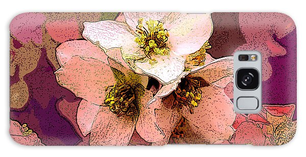 Summer Blossom Galaxy Case