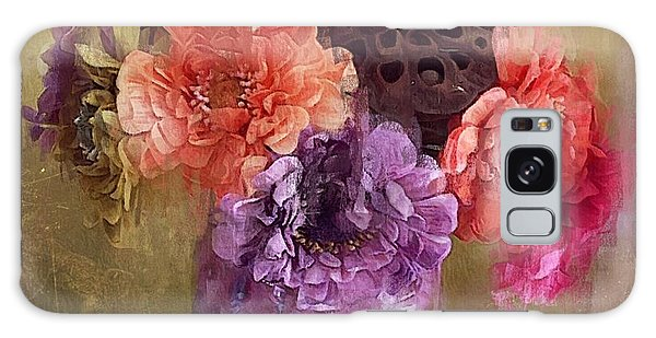 Summer Bouquet Galaxy Case by Alexis Rotella