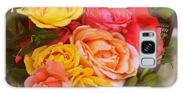 Summer Bouquet Galaxy Case by Marija Djedovic