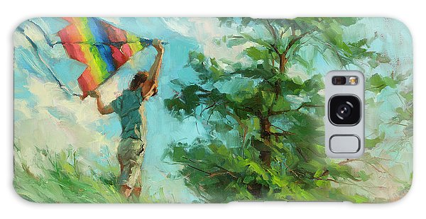 Galaxy Case featuring the painting Summer Breeze by Steve Henderson