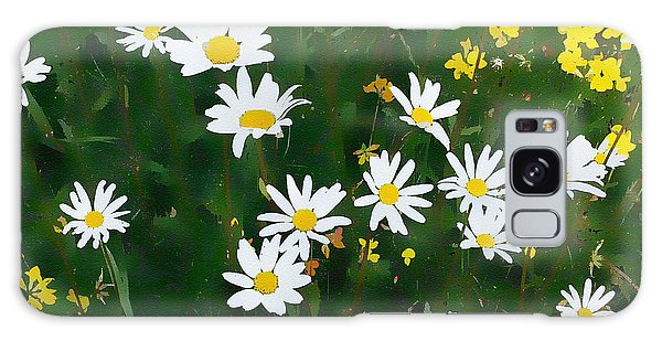 Summer Daisies Galaxy Case