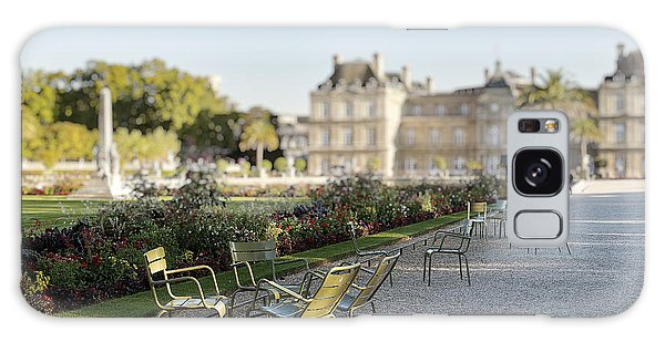 Summer Day Out At The Luxembourg Garden Galaxy Case