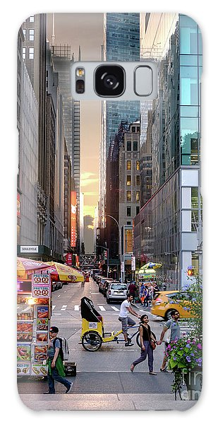 Summer Evening, New York City  -17705-17711 Galaxy Case