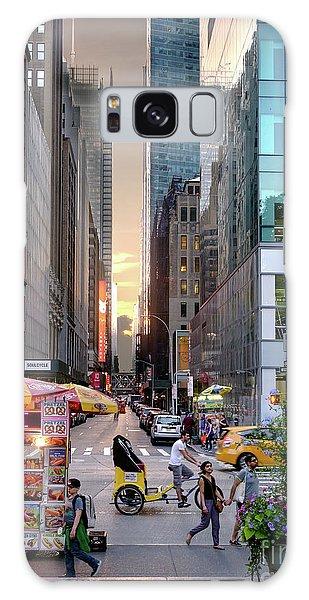 Summer Evening, New York City  -17705-17711 Galaxy Case by John Bald