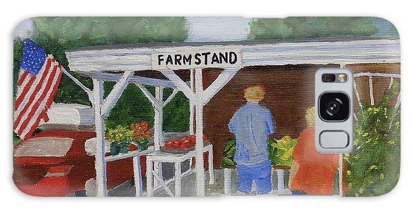 Summer Farm Stand Galaxy Case