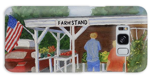 Summer Farm Stand Galaxy Case