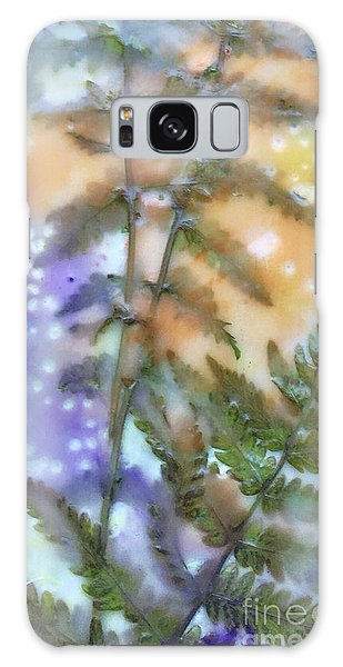 Summer Ferns Galaxy Case
