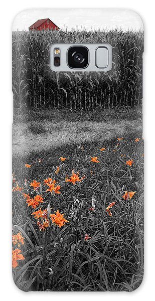 Galaxy Case featuring the photograph Summer Fields by Dylan Punke