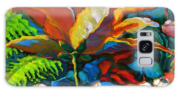 Summer Florals Galaxy Case by Jeanette Jarmon