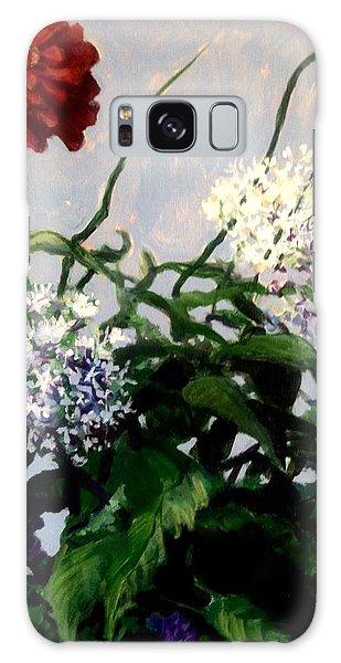 Summer Flowers 1 Galaxy Case