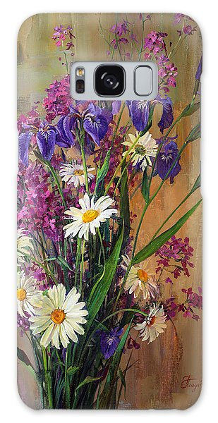 Summer Flowers Galaxy Case