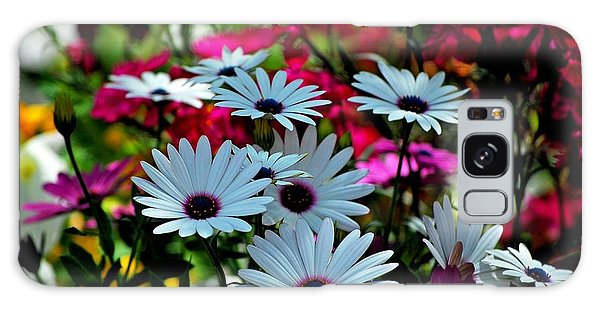 Summer Flowers Galaxy Case by Robert Meanor