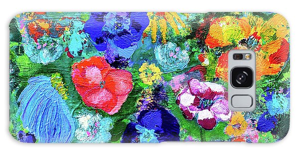 Summer Garden  Galaxy Case