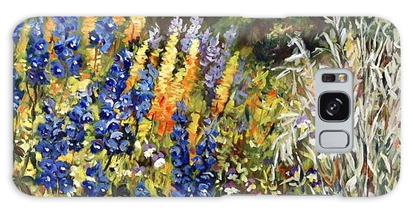Summer Garden Galaxy Case by Alexandra Maria Ethlyn Cheshire