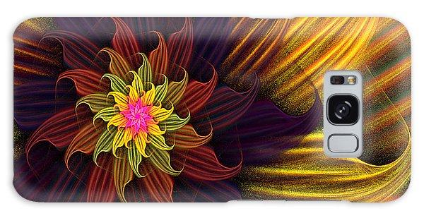 Summer Harvest Flower Galaxy Case