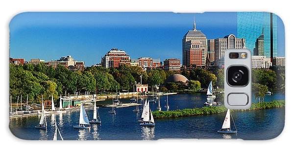 Summer In Boston Galaxy Case by James Kirkikis