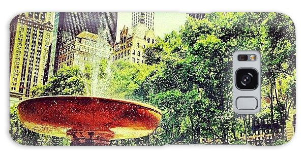 Amazing Galaxy Case - Summer In Bryant Park by Luke Kingma
