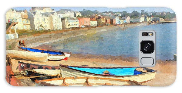 Summer In Dawlish Galaxy Case