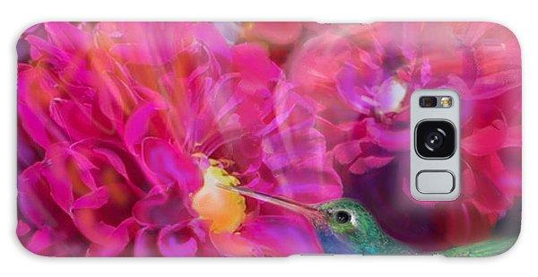 Summer In Full Bloom  Galaxy Case by Julianne  Ososke