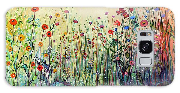 Floral Garden Galaxy Case - Summer Joy by Jennifer Lommers