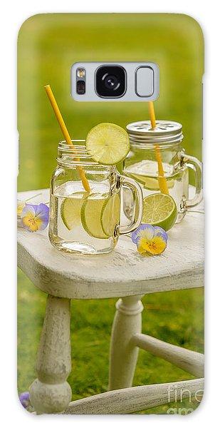 Picnic Table Galaxy Case - Summer Lemonade by Amanda Elwell
