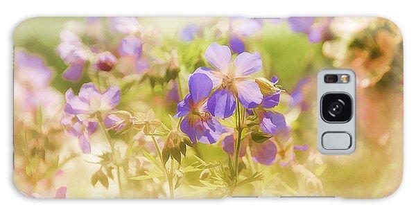 Summer Meadow Galaxy Case by Elaine Manley