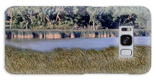 Summer Morning On The Slough Galaxy Case