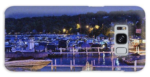 Summer Night - Lake Geneva Wisconsin Galaxy Case