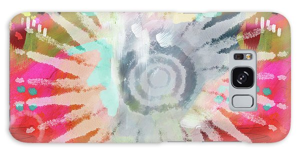 Bright Sun Galaxy Case - Summer Of Love- Art By Linda Woods by Linda Woods