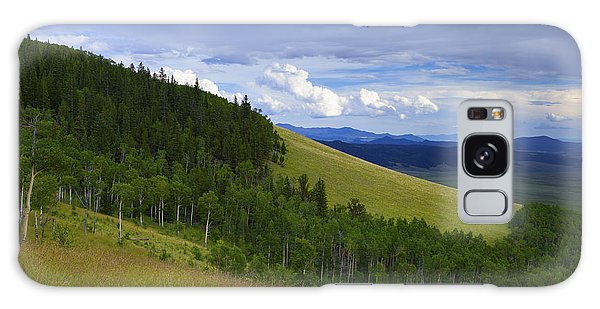 Summer On Kenosha Pass Galaxy Case