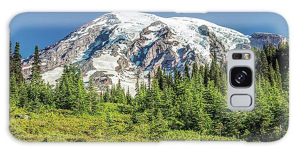 Galaxy Case featuring the photograph Summer On Mount Rainier by Pierre Leclerc Photography