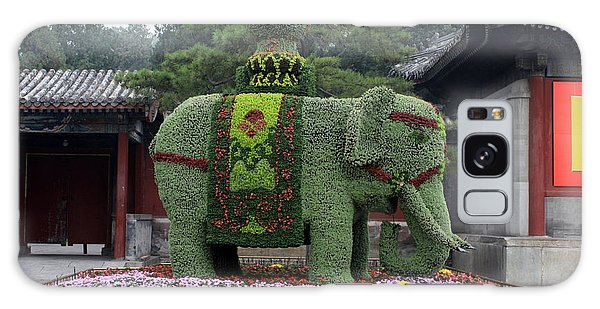 People's Republic Of China Galaxy Case - Summer Palace Elephant by Carol Groenen