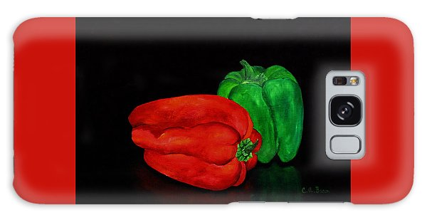 Summer Peppers Galaxy Case