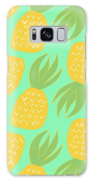 Summer Pineapples Galaxy Case