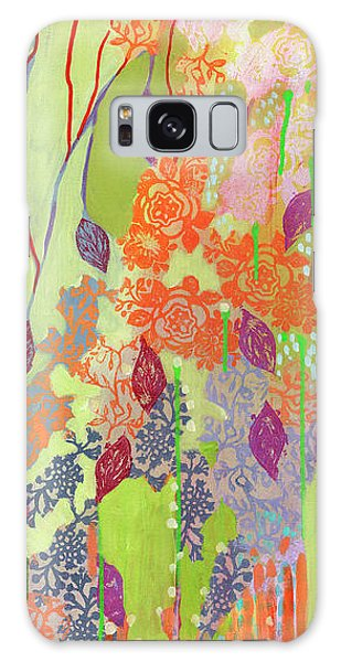 Foliage Galaxy Case - Summer Rain Part 1 by Jennifer Lommers