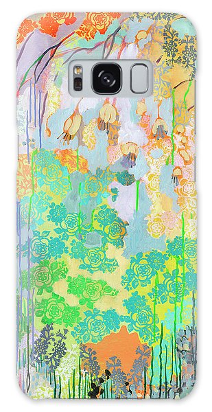 Foliage Galaxy Case - Summer Rain Part 2 by Jennifer Lommers