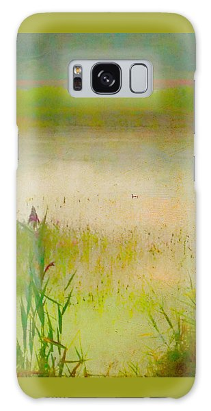Summer Reeds Galaxy Case by Catherine Alfidi