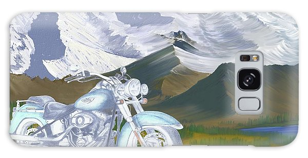 Summer Ride Galaxy Case
