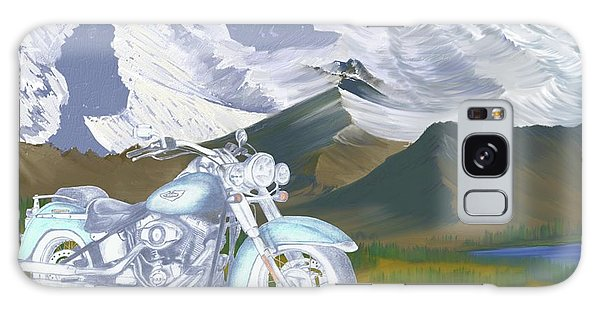Summer Ride Galaxy Case by Terry Frederick