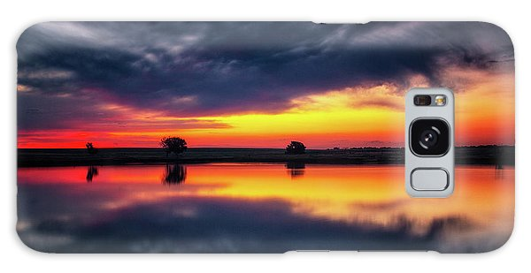 Galaxy Case featuring the photograph Summer Rises by John De Bord