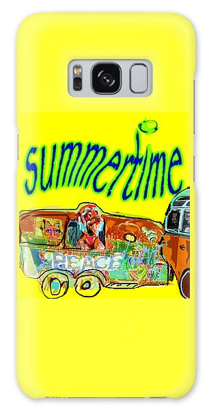Summer Roadtrips Fun  Galaxy Case