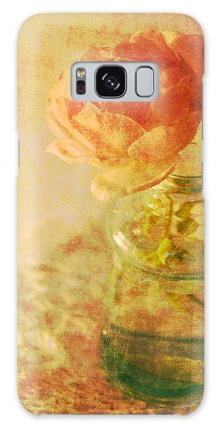 Summer Rose Galaxy Case by Catherine Alfidi