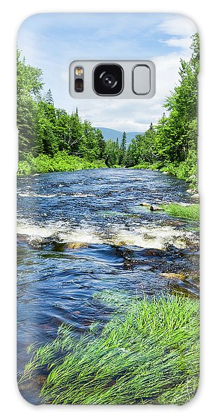 Summer Scene Rangeley Maine  -70742 Galaxy Case