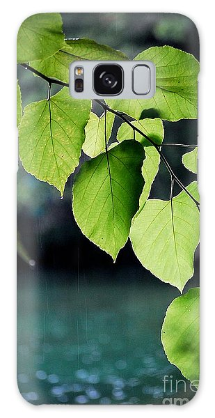 Summer Showers Galaxy Case by Robert Meanor